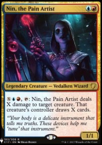 Nin, the Pain Artist - Mystery Booster