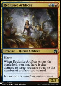 Reclusive Artificer - Mystery Booster