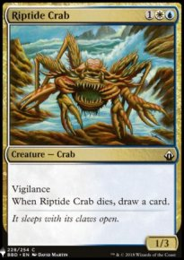 Riptide Crab - Mystery Booster
