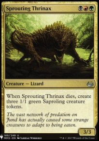 Sprouting Thrinax - Mystery Booster
