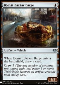 Bomat Bazaar Barge - Mystery Booster
