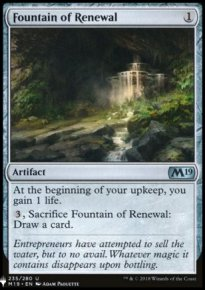 Fountain of Renewal - Mystery Booster