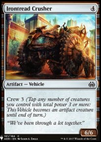 Irontread Crusher - Mystery Booster