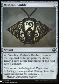 Mishra's Bauble - Mystery Booster