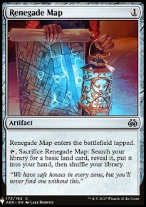 Renegade Map - Mystery Booster