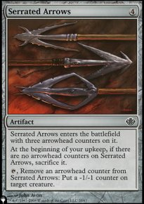 Serrated Arrows - Mystery Booster