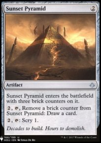 Sunset Pyramid - Mystery Booster
