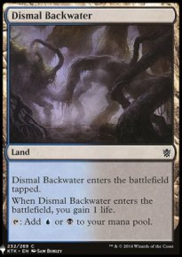 Dismal Backwater - Mystery Booster