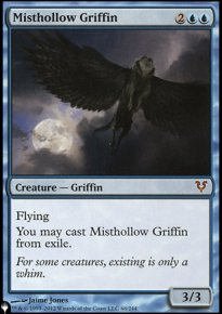 Misthollow Griffin - Mystery Booster