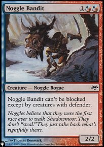 Noggle Bandit - Mystery Booster