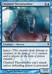 Chained Throatseeker - New Phyrexia