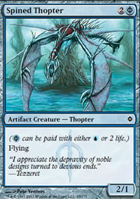 Spined Thopter - New Phyrexia