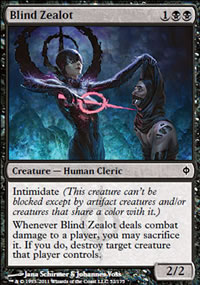 Blind Zealot - New Phyrexia