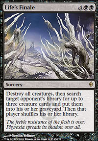 Life's Finale - New Phyrexia