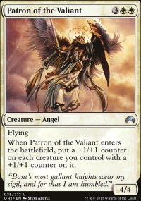Patron of the Valiant - Magic Origins