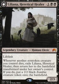 Liliana, Heretical Healer - Magic Origins