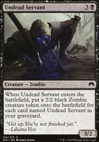 Undead Servant - Magic Origins