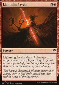 Lightning Javelin - Magic Origins