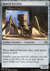 Runed Servitor - Magic Origins