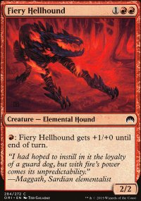 Fiery Hellhound - Magic Origins