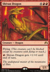 Shivan Dragon - Magic Origins