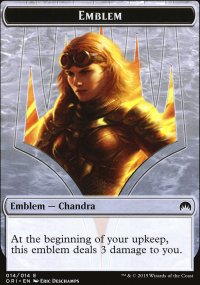 Emblem Chandra, Roaring Flame - Magic Origins