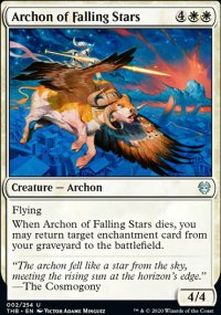 Archon of Falling Stars - Theros Beyond Death
