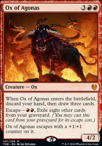 Ox of Agonas 1 - Theros Beyond Death