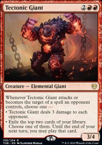 Tectonic Giant 1 - Theros Beyond Death