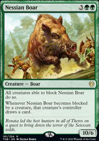 Nessian Boar 1 - Theros Beyond Death