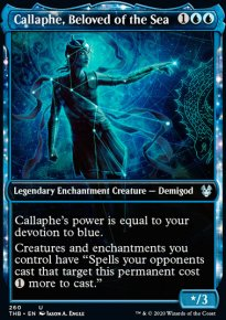 Callaphe, Beloved of the Sea 2 - Theros Beyond Death