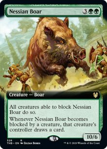 Nessian Boar 2 - Theros Beyond Death