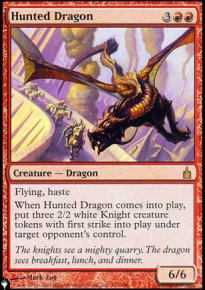 Hunted Dragon - The List