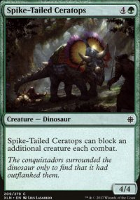 Spike-Tailed Ceratops - Ixalan