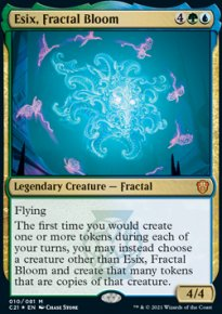 Esix, Fractal Bloom 1 - Commander 2021