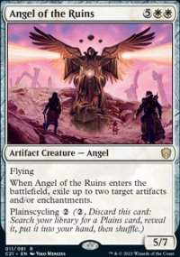 Angel of the Ruins 1 - Commander 2021