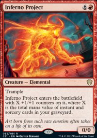 Inferno Project 1 - Commander 2021