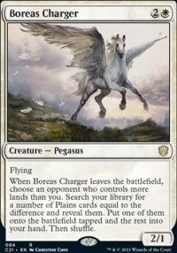 Boreas Charger - Commander 2021