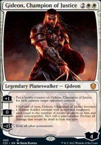 Gideon, Champion of Justice - Commander 2021