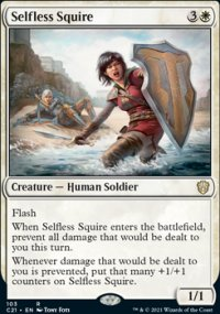 Selfless Squire - Commander 2021