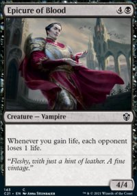 Epicure of Blood - Commander 2021