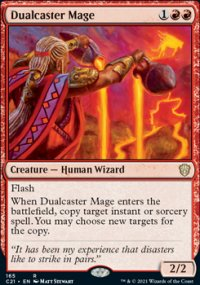 Dualcaster Mage - Commander 2021