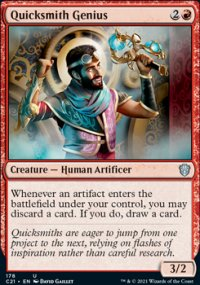Quicksmith Genius - Commander 2021