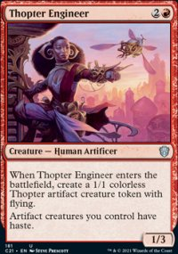 Thopter Engineer - Commander 2021