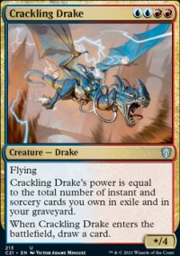 Crackling Drake - Commander 2021