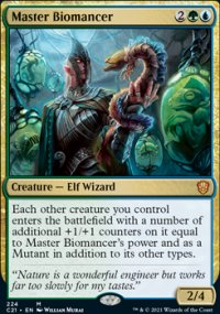 Master Biomancer - Commander 2021