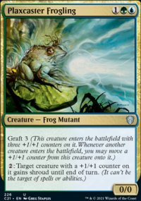 Plaxcaster Frogling - Commander 2021