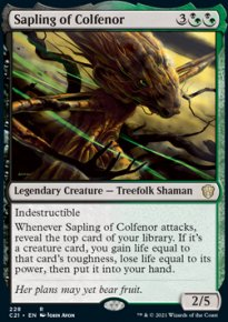 Sapling of Colfenor - Commander 2021