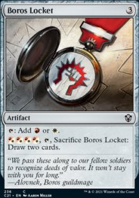 Boros Locket - Commander 2021