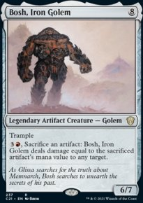 Bosh, Iron Golem - Commander 2021
